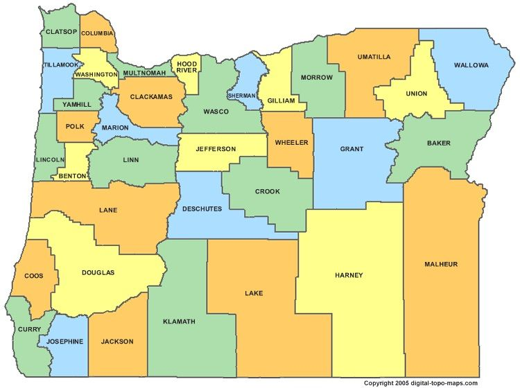 oregon-county-map